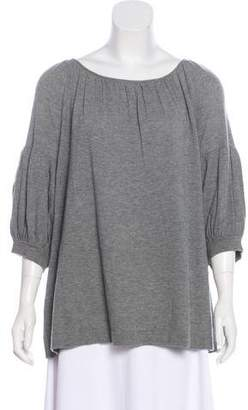 Co Cashmere Short Sleeve Top w/ Tags