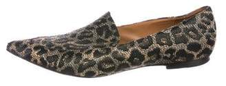 3.1 Phillip Lim Jacquard Pointed-Toe Loafers