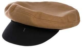 Rag & Bone Ponyhair Trim Baker Hat