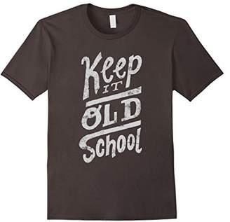 Keep it old school t shirt - Old School Rap T Shirt