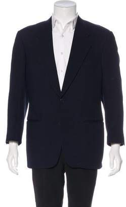 Barneys New York Barney's New York Wool Two-Button Blazer