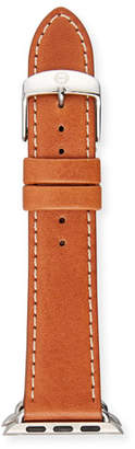 Michele 38mm Leather Strap for Apple Watch