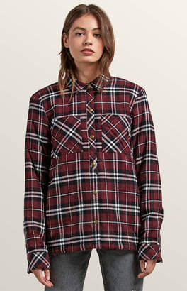 Volcom Plaid About You Flannel Shirt