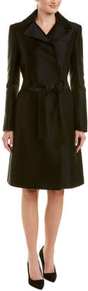 Carolina Herrera Silk-Blend Coat