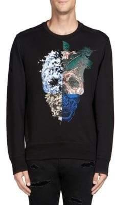 Alexander McQueen Graphic Skull Sweatshirt