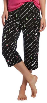 Hue Plus Shout It Clam Digger Pyjama Pants