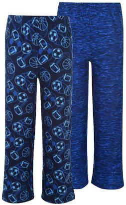 Hanes Boys 2 Pack Print Sleep Pants Knit Pajama Pants Boys