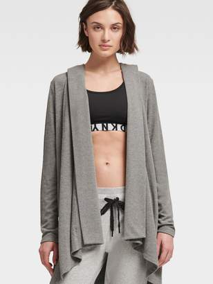 DKNY Open-Front Cardigan Hoodie