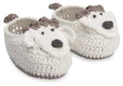 Elegant Baby Baby's Crochet Lamb Shoes