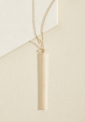 Ana Accessories Inc Key to Simplicity Necklace in Gold $14.99 thestylecure.com