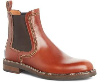 Lanvin Topstitched Chelsea Boot