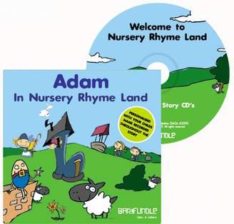 ToyCentre Barafundle Personalised Story CD Adam in Nursery Rhyme Land