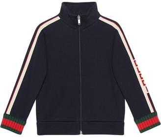 Gucci Kids Children's sweatshirt with jacquard trim