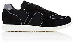 Valentino Men's Soul AM Suede & Mesh Sneakers-Black