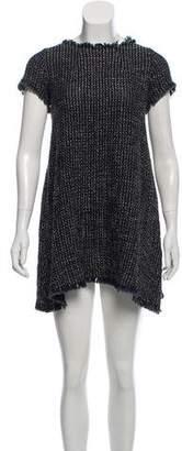 Ter Et Bantine Bow Detail Bouclé Dress