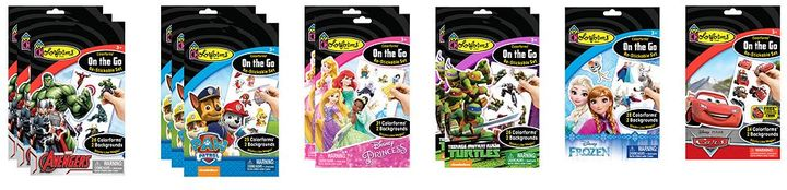Colorforms On the Go Re-Stickable Party Favor Pack