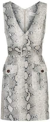 Zimmermann Snakeskin Print Safari Dress