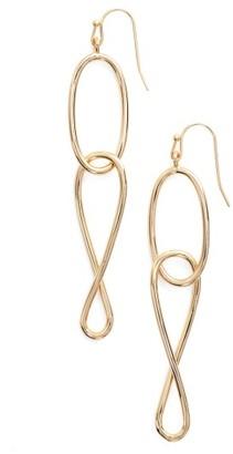 Women's Jules Smith Link Drop Earrings $40 thestylecure.com