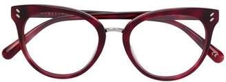 Stella McCartney Eyewear round frame glasses