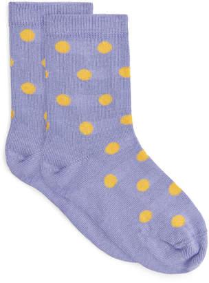 Arket Jacquard-Knitted Socks