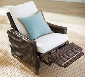 Pottery Barn Abrego All-Weather Wicker Recliner