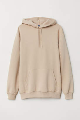 H&M Hooded Sweatshirt - Beige