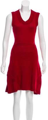 Ohne Titel Knit Knee-Length Dress