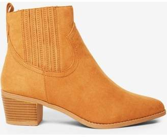 Dorothy Perkins Womens Tan 'Macqueen' Western Boots