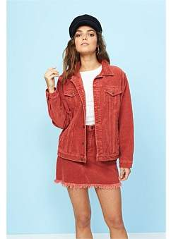 MinkPink Empire Cord Girlfriend Jacket