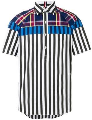 Tommy Hilfiger mix print shortsleeved shirt