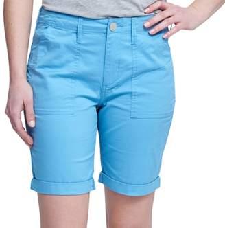 Seven7 Women's Cuffed Chino Bermuda Shorts