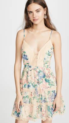 Zimmermann Verity Scallop Short Dress