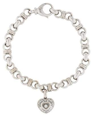 Chopard 18K Happy Diamonds Charm Bracelet