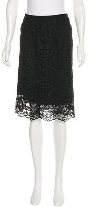 Sandro Lace Pencil Skirt $70 thestylecure.com
