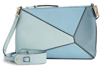 Loewe Mini Puzzle Calfskin Leather Crossbody Bag