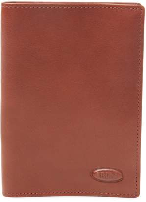 Bric's MONTE ROSA Leather Passport + Credit Card Holder