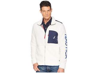 Nautica Sherpa Full Zip Knit Active
