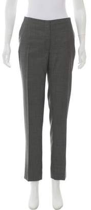 Christian Dior Wool Mid-Rise Straight-Leg Pants w/ Tags