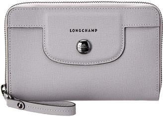 Longchamp Le Pliage Heritage Leather Compact Wallet