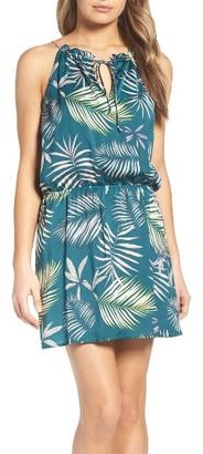 Women's Bb Dakota Brooks Amazon Print Blouson Dress $90 thestylecure.com