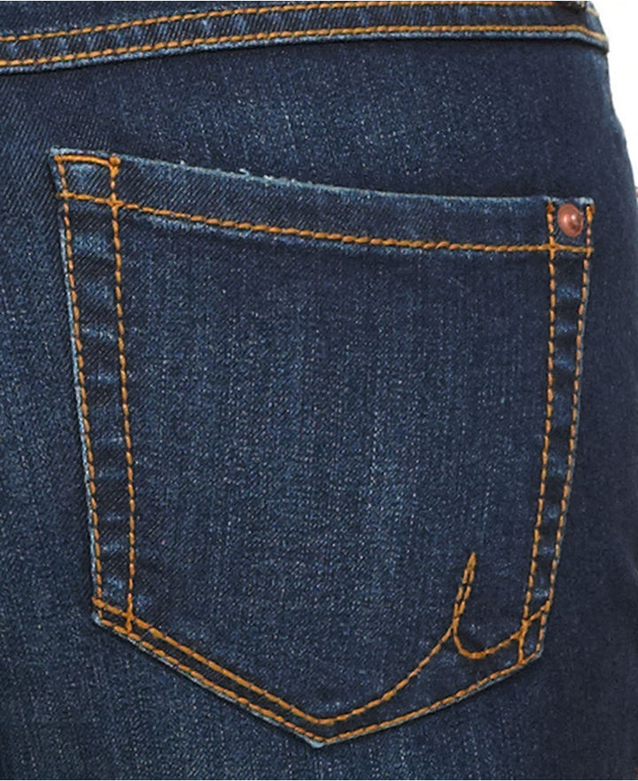 INC International Concepts Jeans, Skinny Ankle-Length Distressed