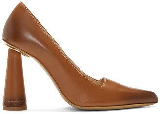 Jacquemus Brown Les Chaussuers Leon Heels