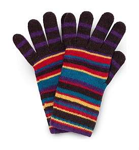 Paul Smith Multistripe Knitted Gloves