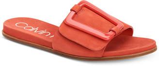 Calvin Klein Women's Patreece Flat Sandals Women's Shoes