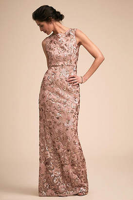 Anthropologie Clarence Wedding Guest Dress