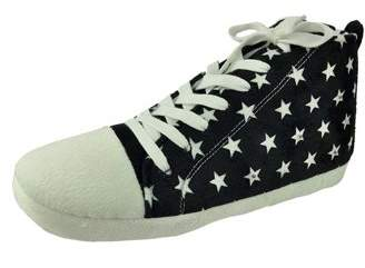 George Men's Star High-top Slipper