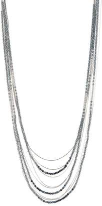 Black Diamond ACCESSORIES Beaded Layered Necklace
