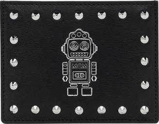 MCM Roboter Card Case In Nappa Leather