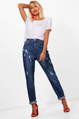 boohoo Sophie High Rise Mom Jeans