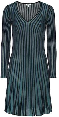 Kenzo Pleated knit dress